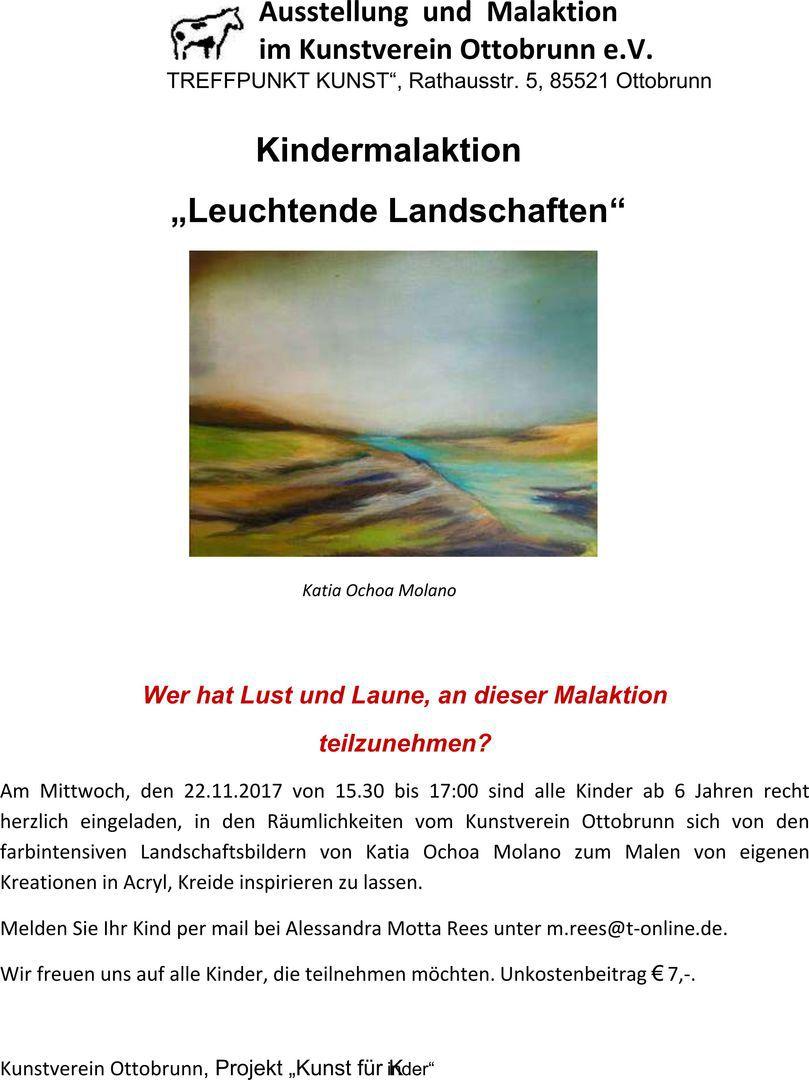 Kunstverein Ottobrunn e.V. - KUNST FÜR KINDER